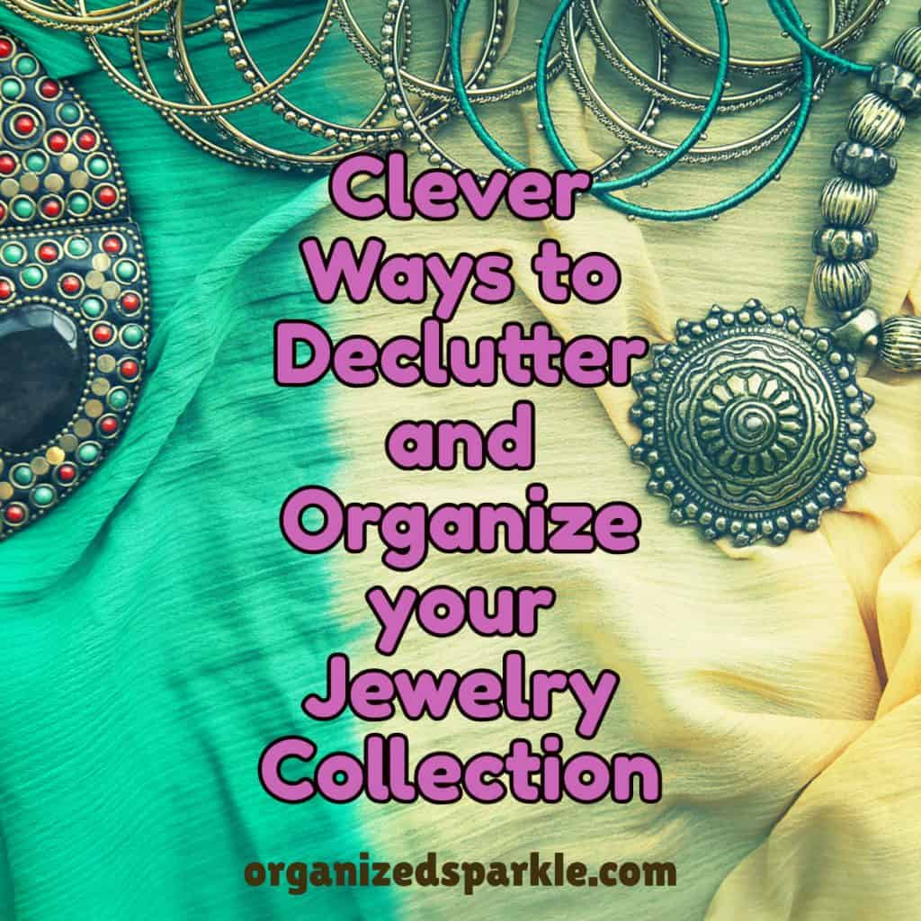 how to organize accessories and jewelry in a drawer