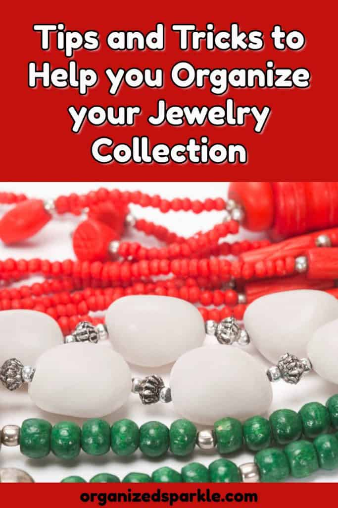 ideas for containers to organize jewelry