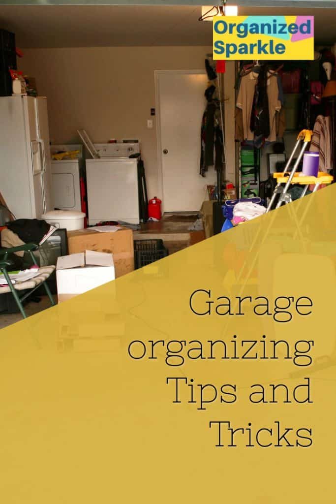 garage organizing and decluttering tips and tricks