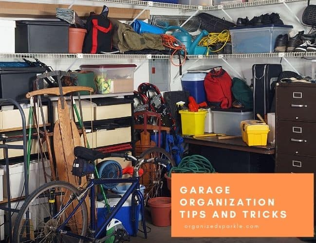 garage organization ideas and products