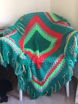 crochet blanket craft project thaat I hated