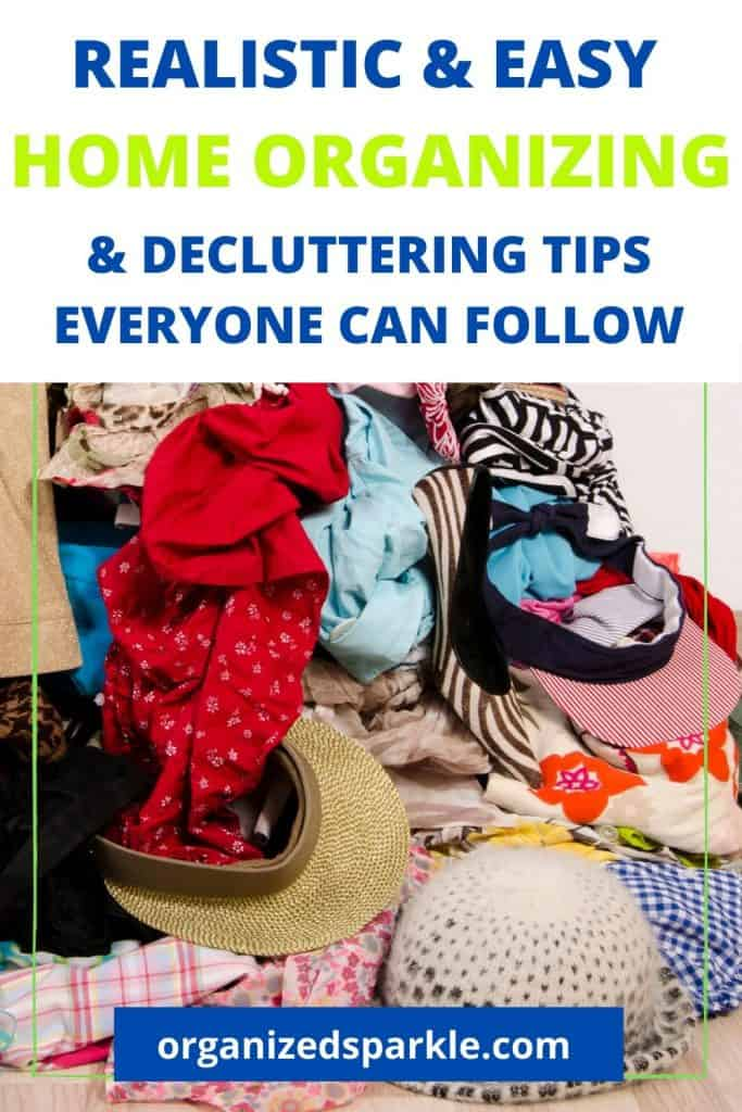 realistic organizing tips how decluttering improves your health and wellbeing.