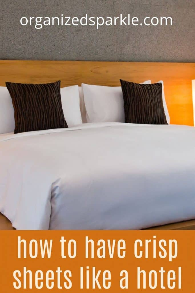 how to clean your sheets like a hotel does