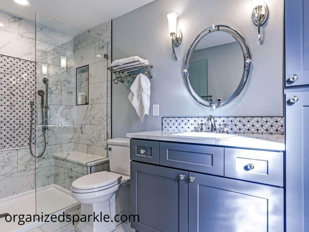 pictures of small bathrooms with vanities