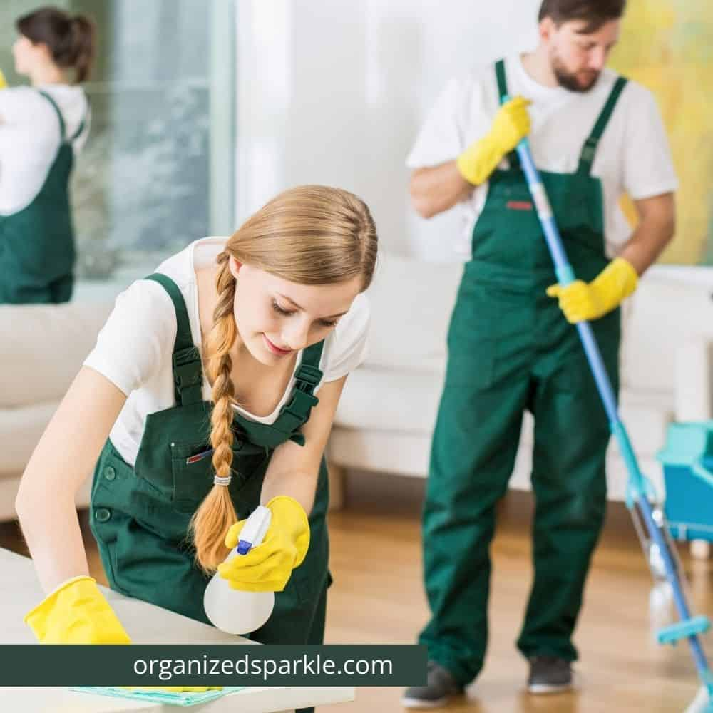 easy house cleaning schedule tips