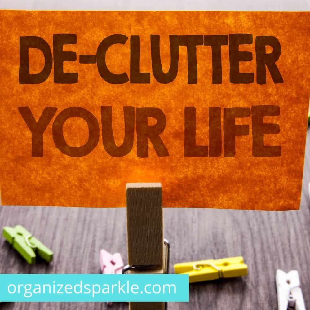 how to effectively declutter your house