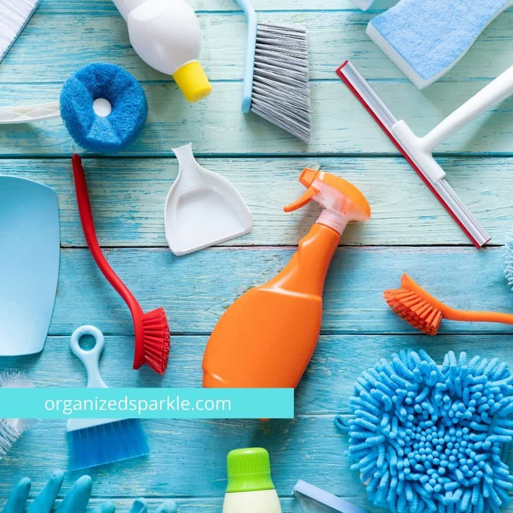 easy house cleaning schedule ideas