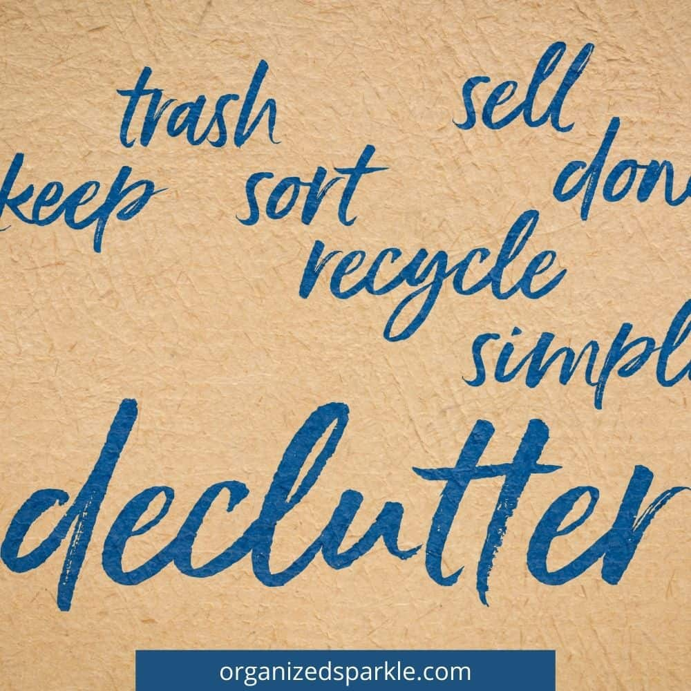 reasons to get rid of clutter