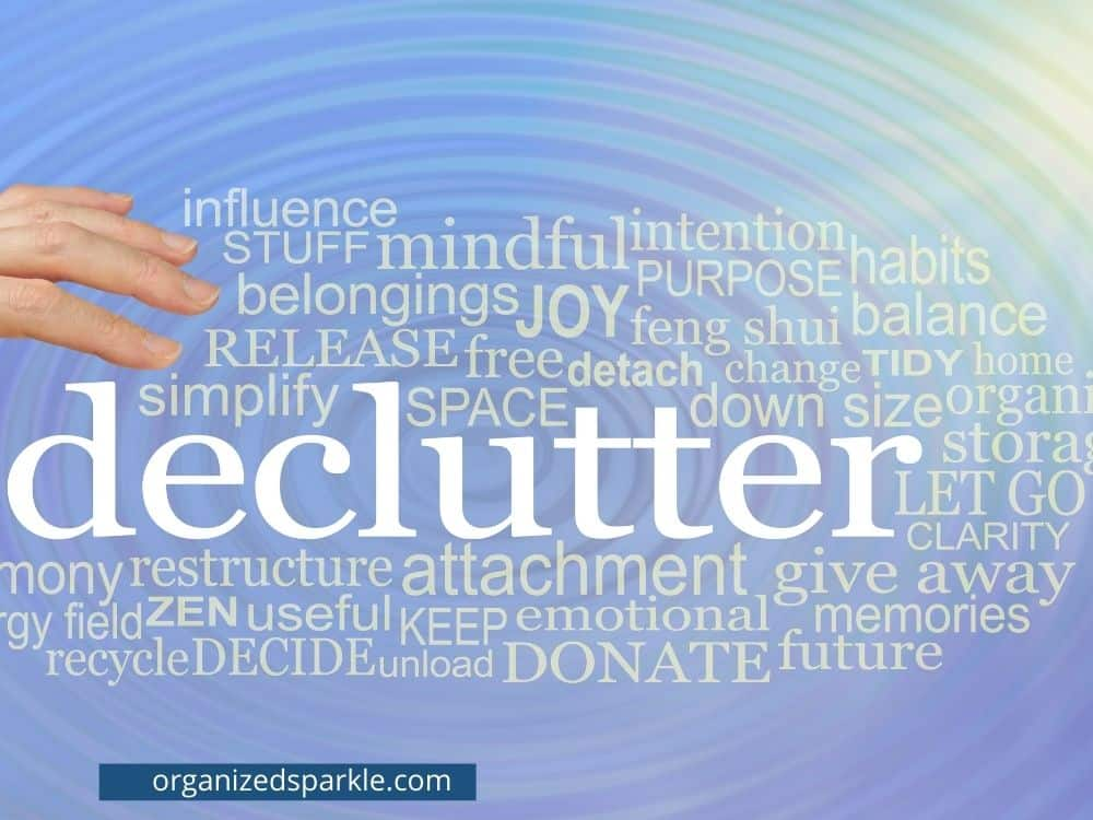 how to avoid decluttering mistakes