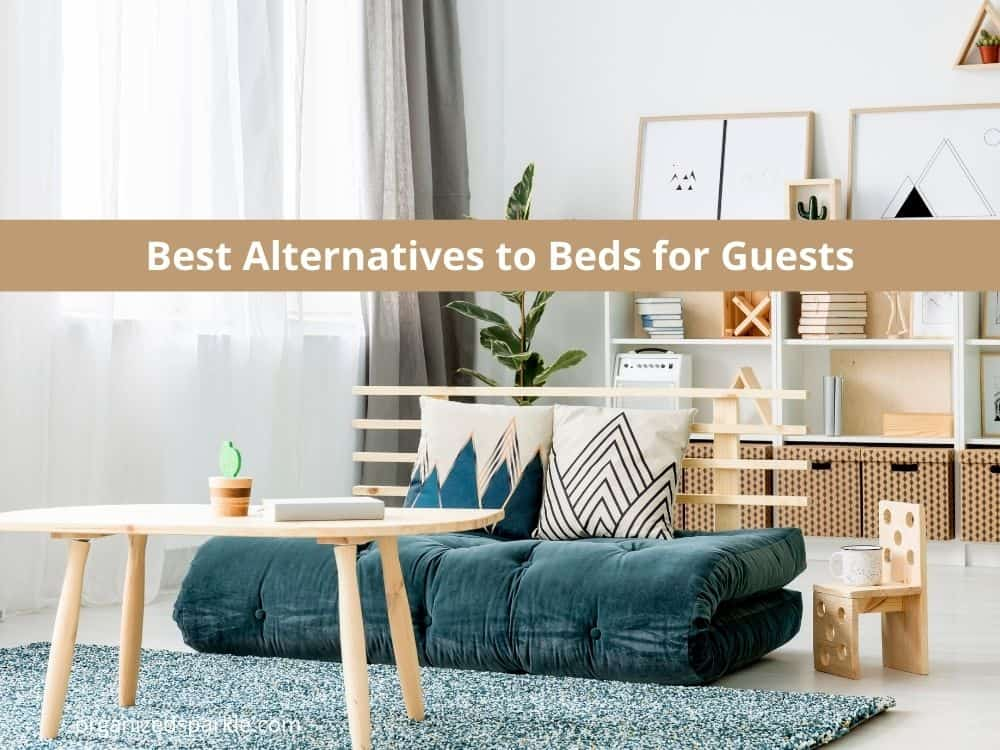 bed alternative ideas for guests