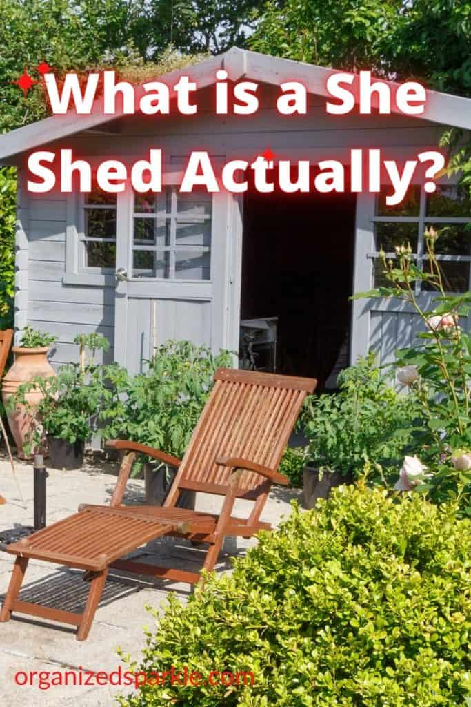 what the hell is a she shed
