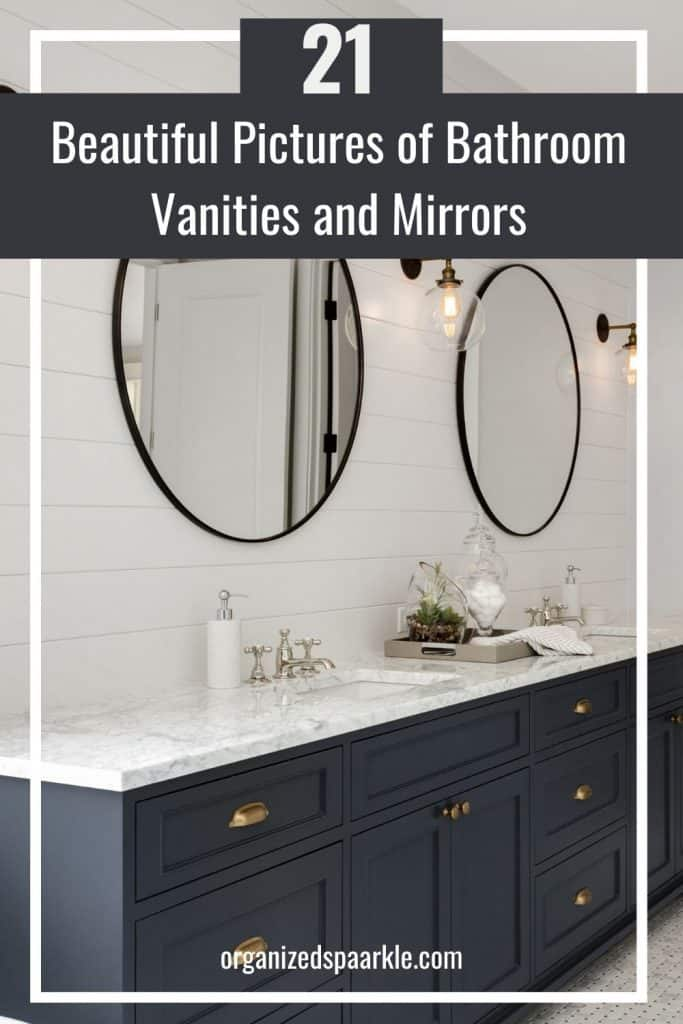 stunning pictures of bathroom vanities and mirrors