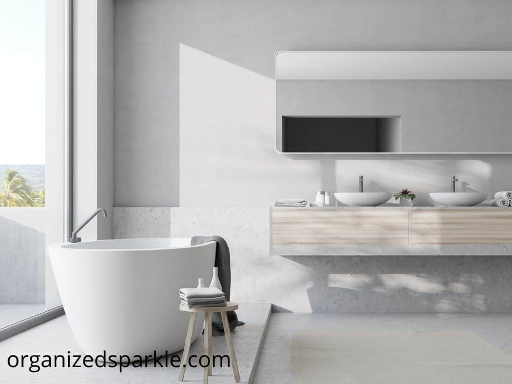 inspirational photos of modern bathrooms with standalone tubs