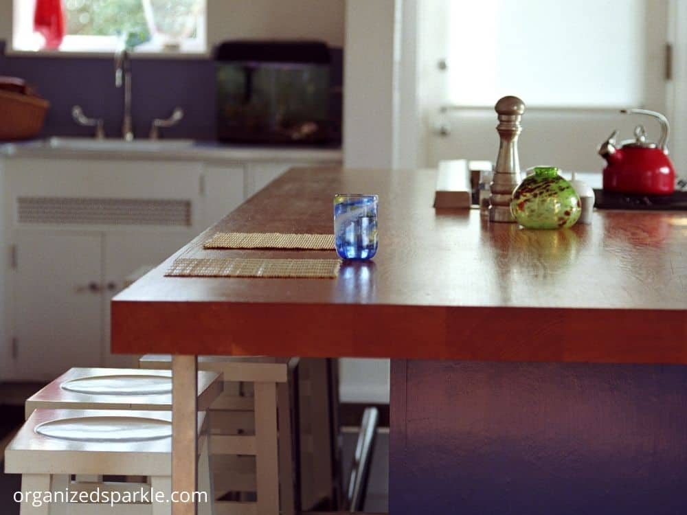 pictures of narrow islands in small kitchens