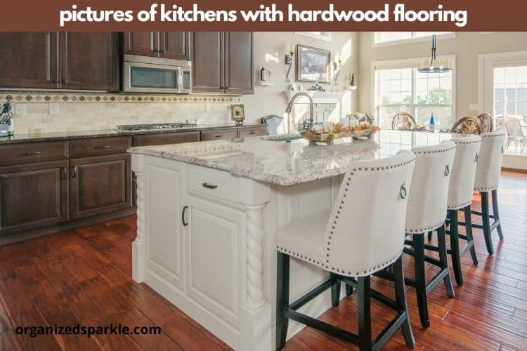 images of kitchens with hardwood flooring