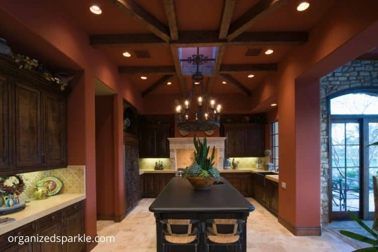 Kitchen Designs With Exposed Wooden Beams