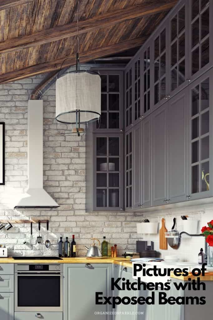pictures of kitchens with exposed beams