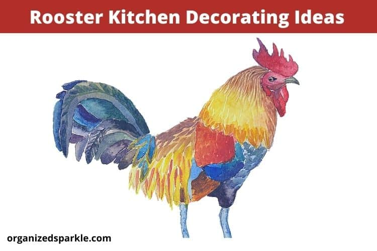 rooster kitchen decor and accessory ideas