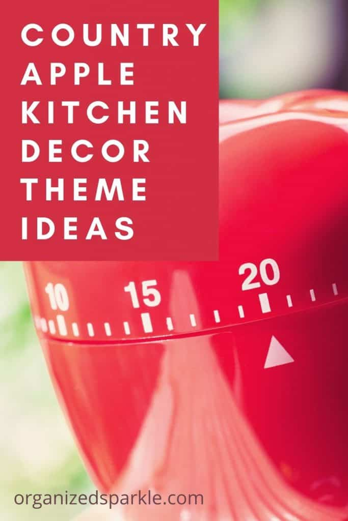 Country Apple Kitchen Decor Theme Ideas