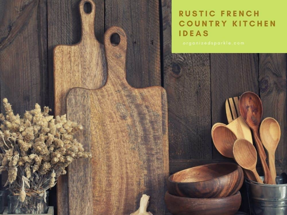 Rustic French Country Kitchen Accessories and design ideas
