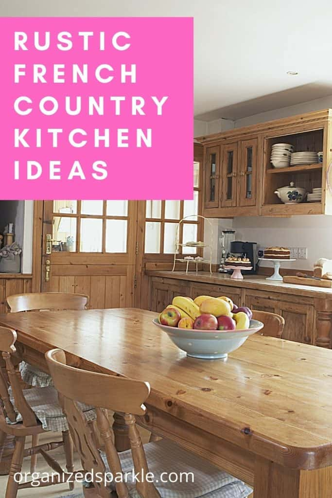 Rustic French Country Kitchen Ideas