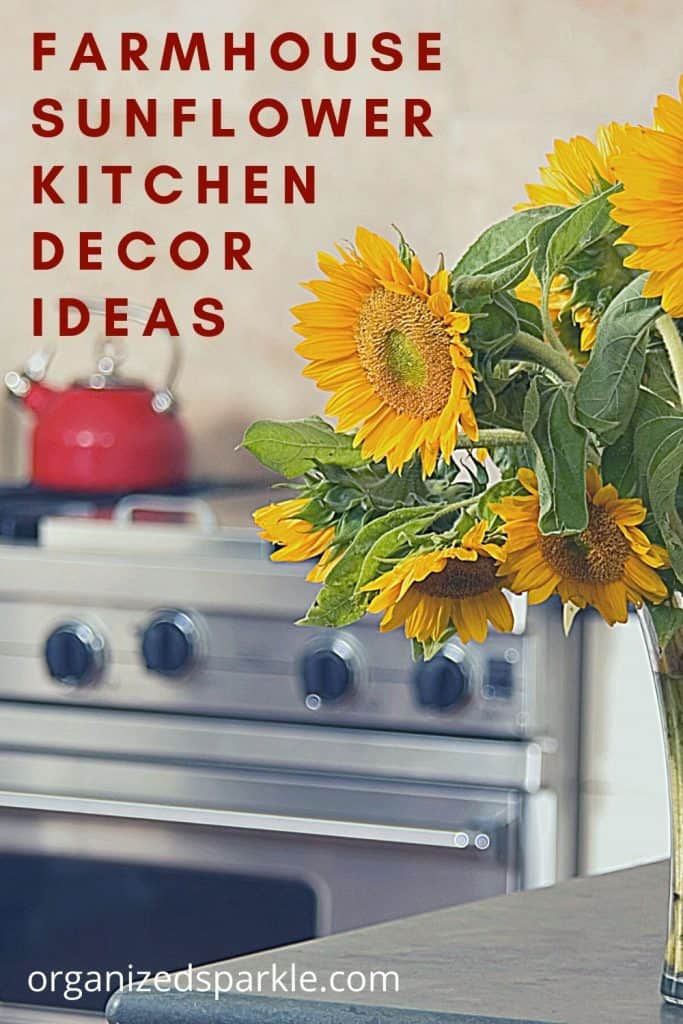 10 Best Farmhouse Sunflower Kitchen Decor To Fill Your Home With Color Organized Sparkle