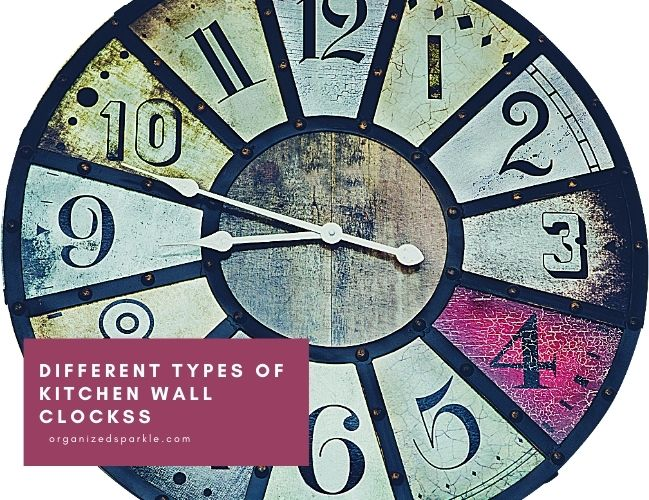 Guide to the Different Types of Wall Clocks for kitchens
