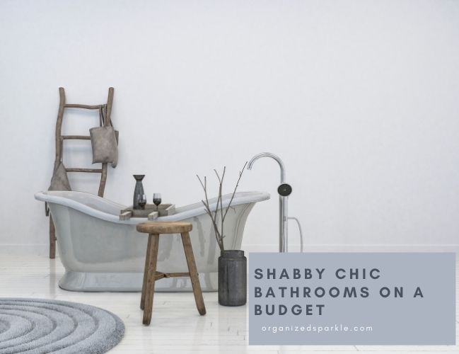 Shabby Chic Bathrooms on a Stoestring