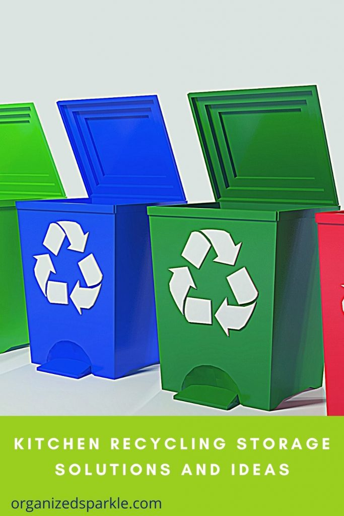 Kitchen Recycling Storage Solutions Products and Tips