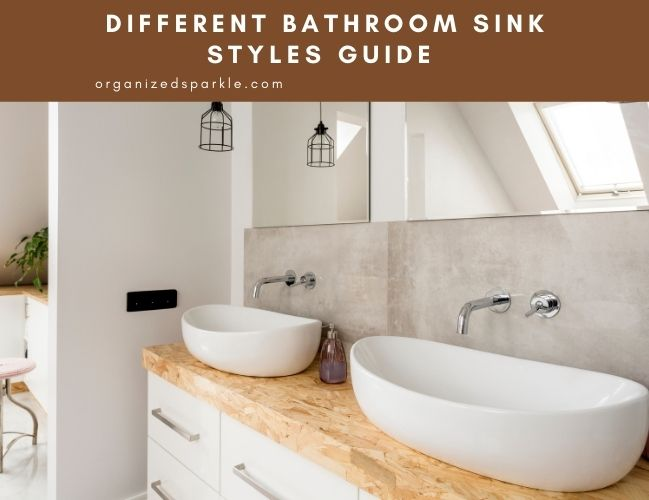 guide to the different types of bathroom sink