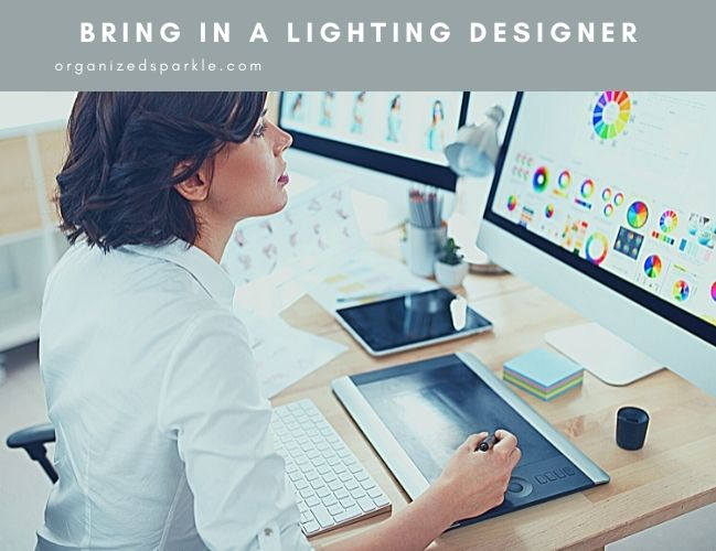 why use a lighting designer for your next bathroom remodel
