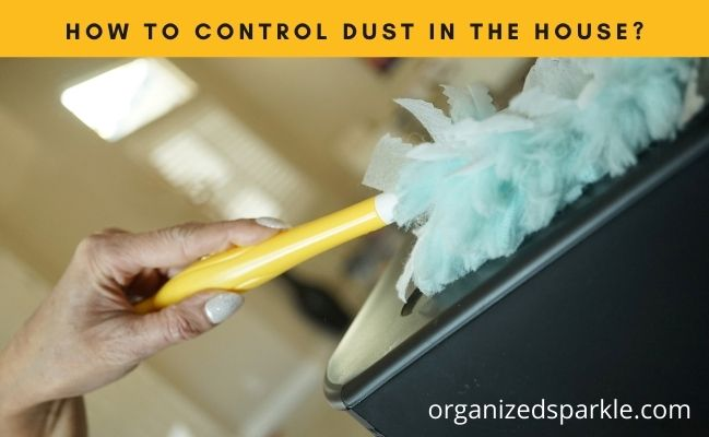 dust control tips for the home
