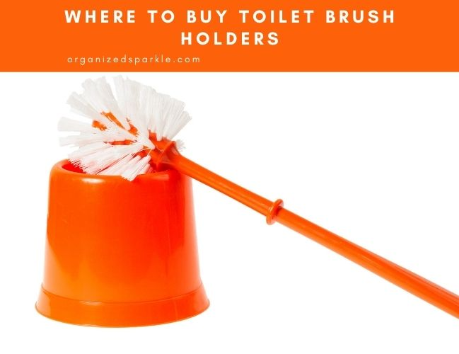 where to buy toilet brush holders and caddies