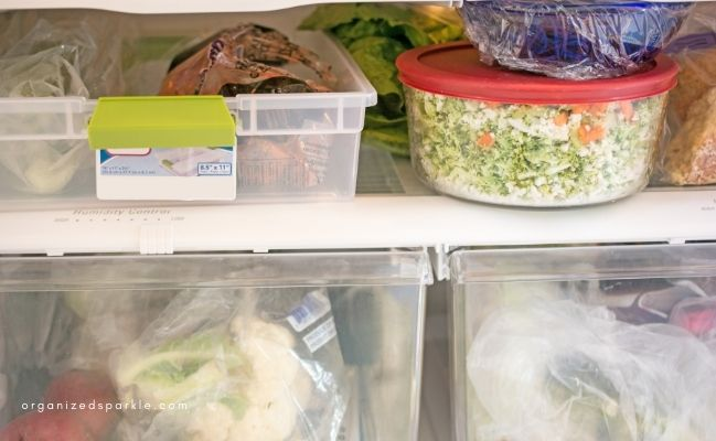 ways to store cooked food in the fridge