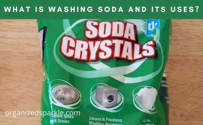 what are washing soda crystals used for?