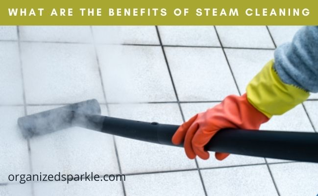 steam cleaning benefits in the home