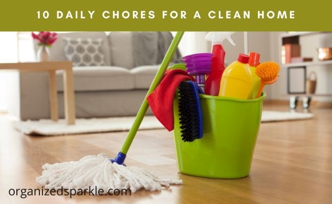 list of daily chores