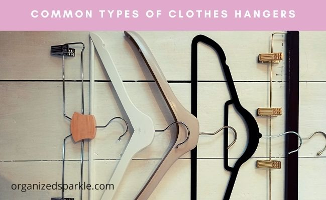 different types of clothes hangers
