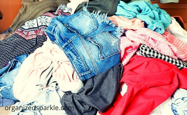 pick up your clothes