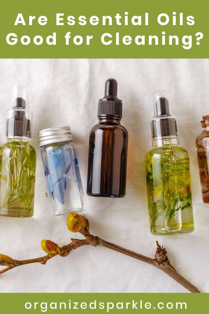 Are Essential Oils Good for Cleaning?
