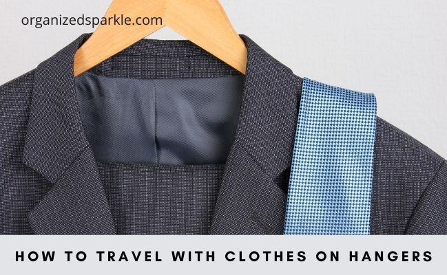 suit hangers for business trips